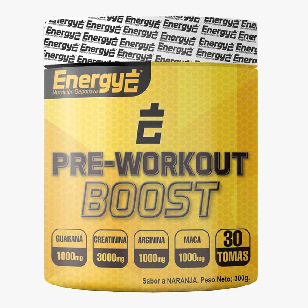 ENERGY  PRE-WORKOUT BOOST